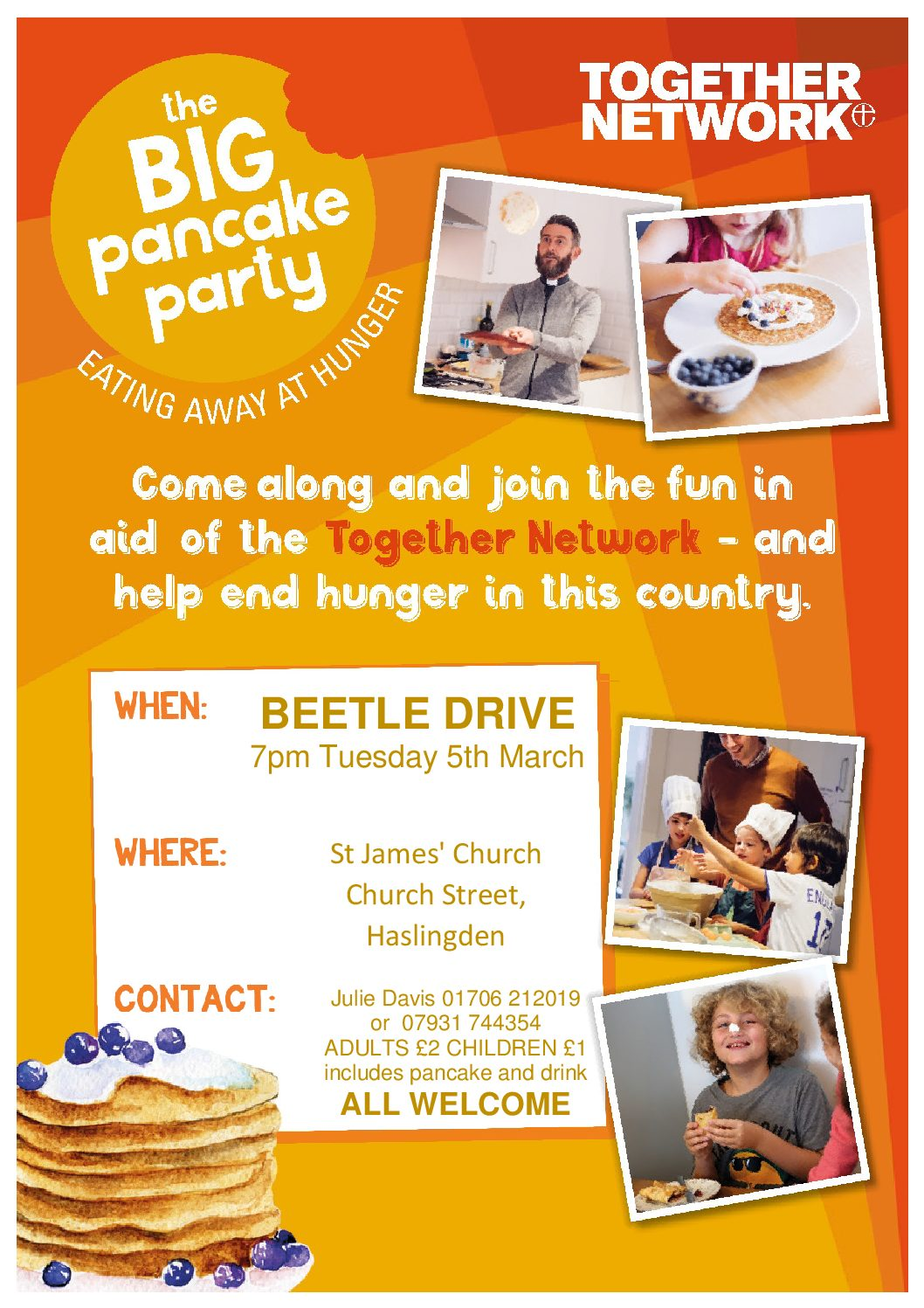 Beetle Drive & Big Pancake Party