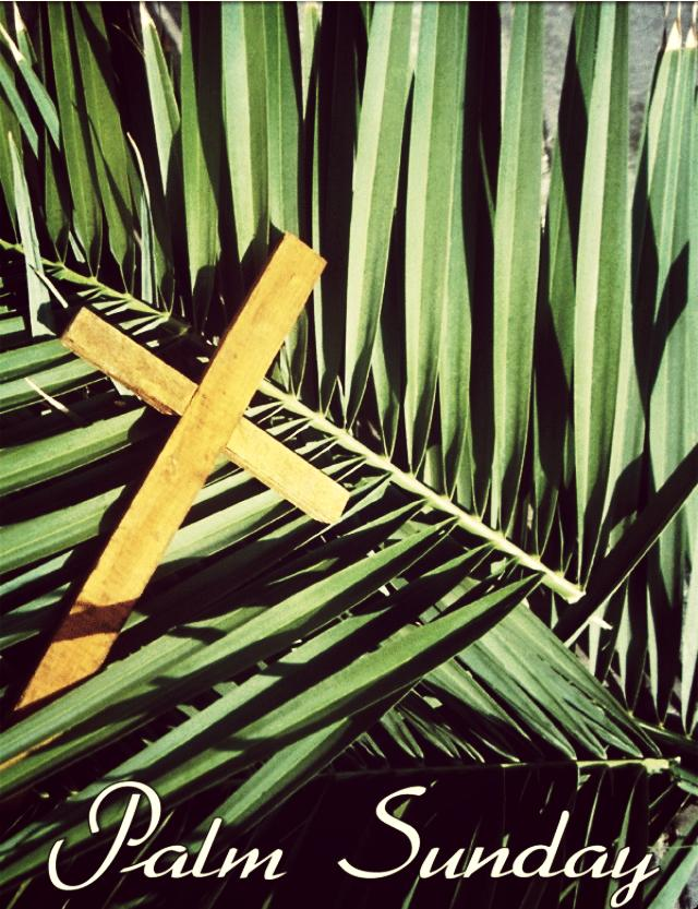28th March 2021 : Palm Sunday Service details,  Readings, Prayers and Notices