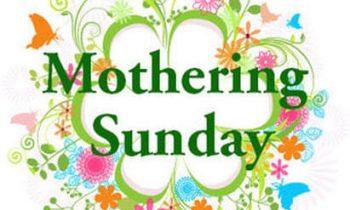 4th Sunday of Lent 14th March 2021 : Mothering Sunday  Eucharist Service 10:45am.