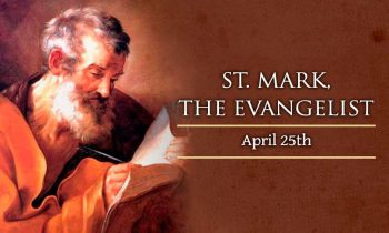 25th April 2021 : Feast of St Mark Sunday Service details,  Readings, Prayers and Notices